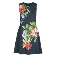 textil Dam Korta klänningar Desigual KILKENY Marin