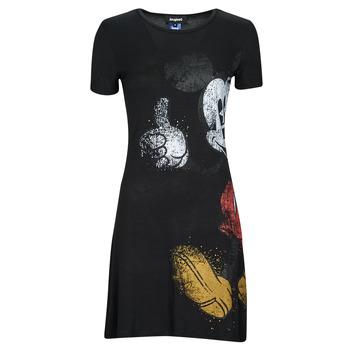 textil Dam Korta klänningar Desigual MICKEY Svart