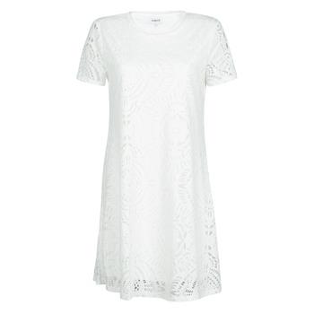 textil Dam Korta klänningar Desigual NILO Vit