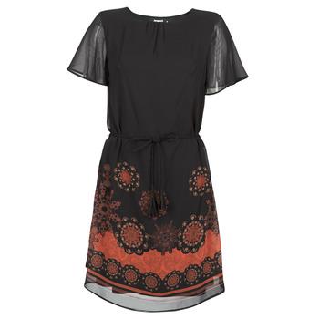textil Dam Korta klänningar Desigual TAMPA Svart