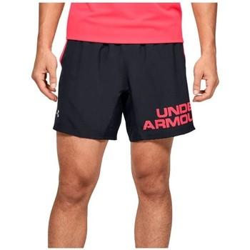 textil Herr Shorts / Bermudas Under Armour Speed Stride Graphic 7 Shorts Svarta