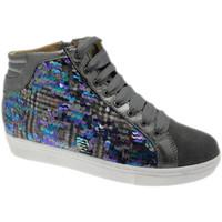 Skor Dam Höga sneakers Calzaturificio Loren LOC3921gr grigio