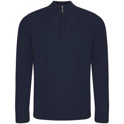 textil Herr Sweatshirts Ecologie EA061 Marinblått