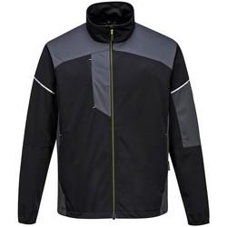textil Herr Sweatjackets Portwest PW365 Svart/Zoom Grey