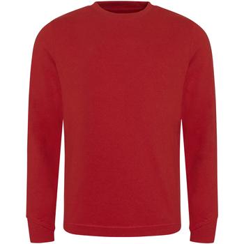 textil Herr Sweatshirts Ecologie EA030 Röd
