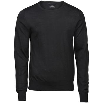 textil Herr Sweatshirts Tee Jays T6000 Svart