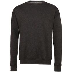 textil Sweatshirts Bella + Canvas BE045 Mörkgrått ljummet
