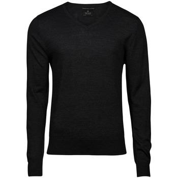 textil Herr Sweatshirts Tee Jays T6001 Svart