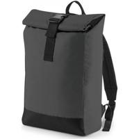 Väskor Ryggsäckar Bagbase BG138 Svart reflekterande
