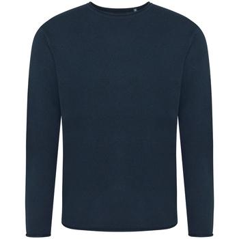 textil Herr Sweatshirts Ecologie EA060 Marinblått