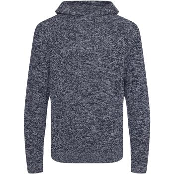 textil Herr Sweatshirts Ecologie EA080 Marinblått/Läder