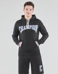 textil Herr Sweatshirts Champion 215747 Svart / Blå