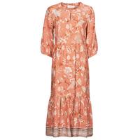 textil Dam Långklänningar Cream JOHUI DRESS Orange