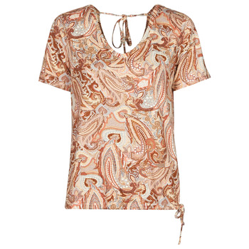 textil Dam T-shirts Cream LULLA TSHIRT Flerfärgad