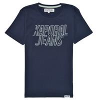 textil Pojkar T-shirts Kaporal MAIL Marin