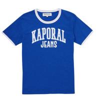 textil Pojkar T-shirts Kaporal METRO Blå