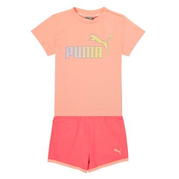 textil Flickor Set Puma BB SET ABRI Rosa