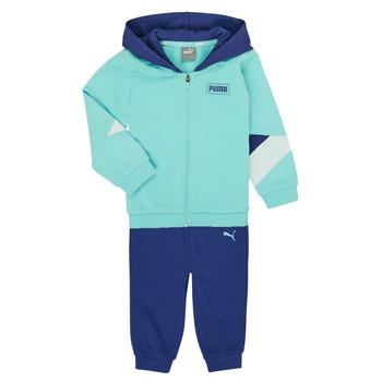 textil Pojkar Set Puma BB MINICATS REBEL Blå