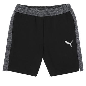 textil Pojkar Shorts / Bermudas Puma EVOSTRIPE SHORTS Svart