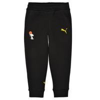 textil Pojkar Joggingbyxor Puma SNOOPY PEANUTS SWEAT PANT Svart