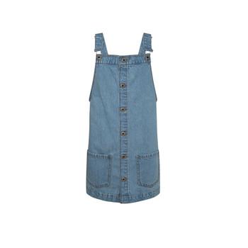 textil Flickor Korta klänningar Pepe jeans CHICAGO PINAFORE Blå