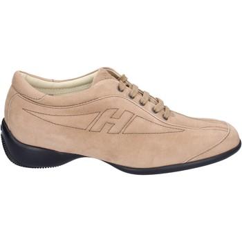 Skor Dam Sneakers Hogan BK586 Beige