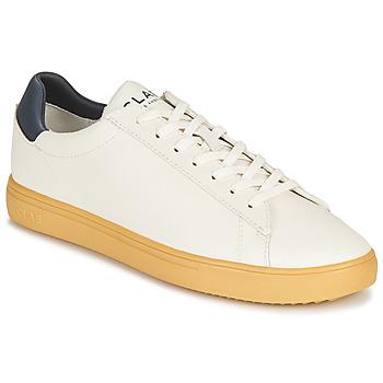 Skor Sneakers Clae BRADLEY CACTUS Vit / Blå