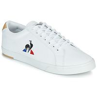 Skor Herr Sneakers Le Coq Sportif VERDON II Vit / Brun