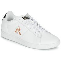 Skor Dam Sneakers Le Coq Sportif COURTSET Vit / Svart