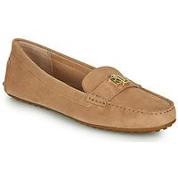 Skor Dam Loafers Lauren Ralph Lauren BARNSBURY FLATS CASUAL Beige