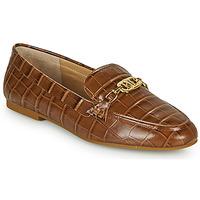 Skor Dam Loafers Lauren Ralph Lauren AVERI Cognac
