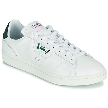Skor Herr Sneakers Lacoste MASTERS CLASSIC 07211 SMA Vit / Grön