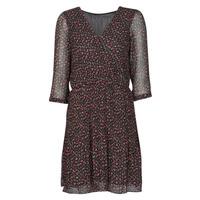 textil Dam Korta klänningar Moony Mood NOULINE Svart / Röd