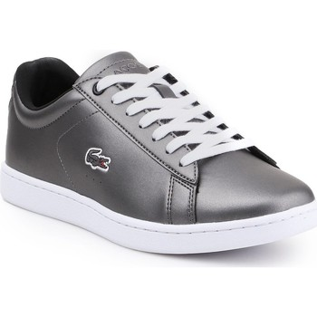 Skor Dam Sneakers Lacoste Carnaby Evo 317 7-34SPW0010024 silver