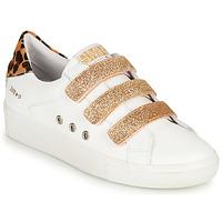 Skor Dam Sneakers Semerdjian GARBIS Vit / Guldfärgad