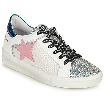 Skor Dam Sneakers Semerdjian CARLA Silver / Vit / Grön