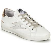Skor Dam Sneakers Semerdjian CATRI Vit / Guldfärgad