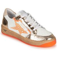 Skor Dam Sneakers Semerdjian ARTO Vit / Orange