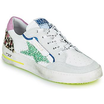 Skor Dam Sneakers Semerdjian ARTO Vit / Grå / Blå