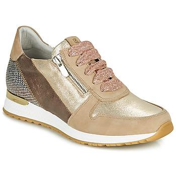 Skor Dam Sneakers Dorking VIOLA Guldfärgad