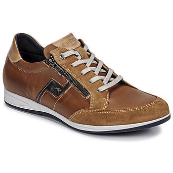 Skor Herr Sneakers Fluchos 0207-AFELPADO-CAMEL Brun