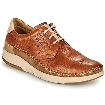 Skor Herr Sneakers Fluchos 0795-TORNADO-CUERO Brun