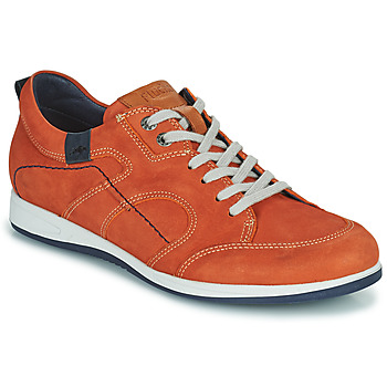 Skor Herr Sneakers Fluchos 9734-CRETA-CUERO Brun