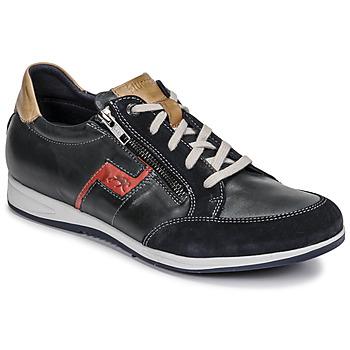 Skor Herr Sneakers Fluchos 0207-AFELPADO-MARINO Marin