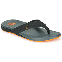 Skor Herr Flip-flops Reef CUSHION PHANTOM Svart / Orange