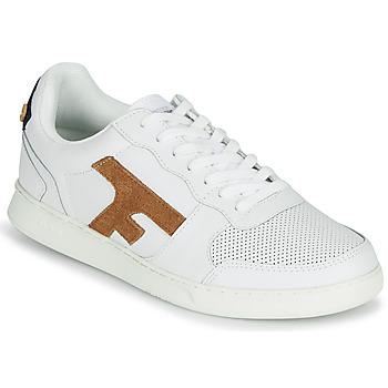 Skor Herr Sneakers Faguo HAZEL LEATHER Vit / Brun