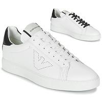 Skor Herr Sneakers Emporio Armani BELGA Vit