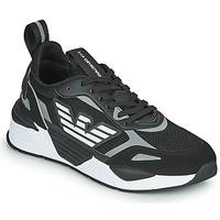Skor Herr Sneakers Emporio Armani EA7 BLACES Svart