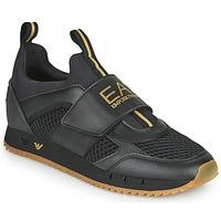 Skor Herr Sneakers Emporio Armani EA7 CALMONI Svart