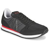 Skor Herr Sneakers Armani Exchange ESPACIA Svart / Röd